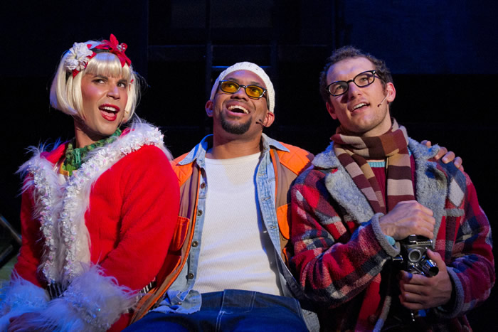 Joshua Cruz, Dean-Carlo Grant and Drew Gasparini - Surflight Theatre's Production of Rent