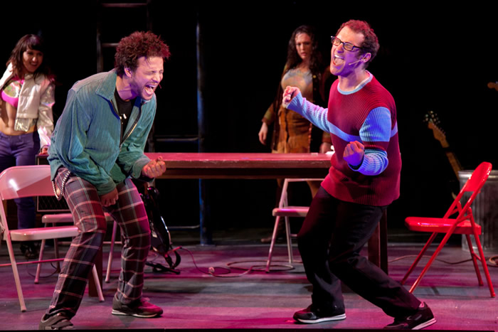Justin Guarini and Drew Gasparini - Surflight Theatre's Production of Rent